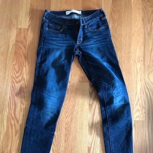 Abercrombie & Fitch Supper Skinny Blue Jeans